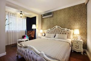23平米欧式风格卧室墙纸装修效果图鉴赏
