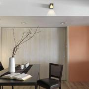 日式风格小户型餐厅装修设计效果图赏析