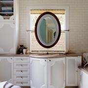 欧式风格大户型卫生间浴室柜设计效果图