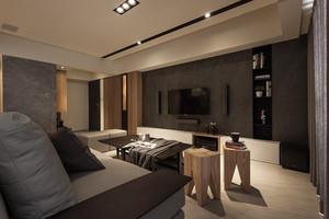 146平米现代工业风格大户型室内装修效果图