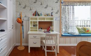 现代简约美式风格大户型室内整体装修效果图
