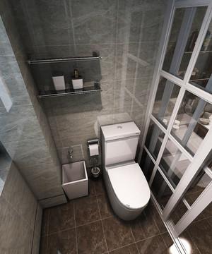 现代简约美式风格三室一厅室内装修效果图