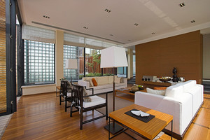 现代中式风格两层别墅室内装修效果图鉴赏