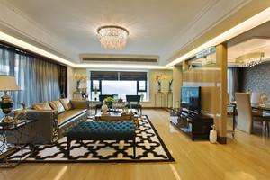 155平米新古典主义风格大户型室内装修效果图