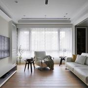 后现代风格三居室室内客厅装修效果图