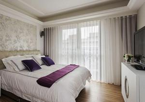 简欧风格大户型室内卧室装修效果图
