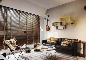 现代极简主义风格客厅设计装修效果图
