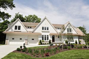 320平米欧式风格别墅外观效果图赏析