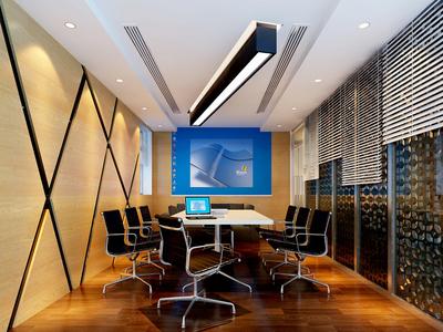 50平米后现代风格多功能会议室装修效果图赏析