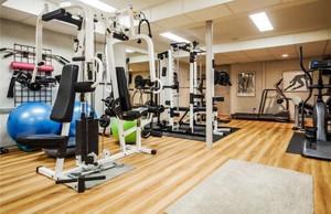 80平米现代简约风格健身房设计装修效果图