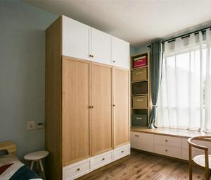 自然简约北欧风格两室两厅室内装修效果图