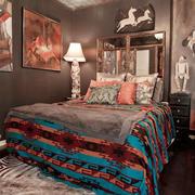 时尚混搭风格卧室装修效果图赏析