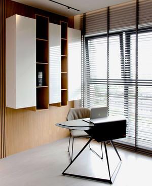 现代简约中式风格小书房装修效果图