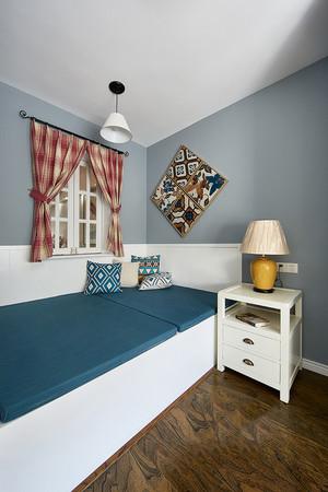现代简约美式风格两室两厅室内装修效果图赏析