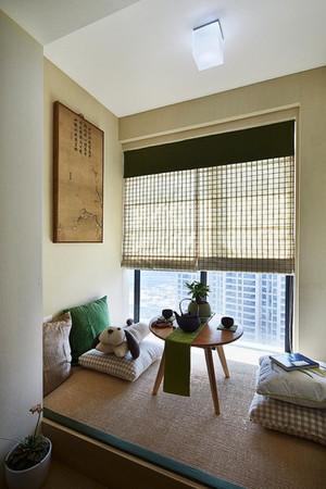 中式风格大户型室内榻榻米装修效果图