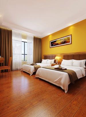 30平米现代简约风格宾馆客房装修效果图
