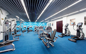 70平米现代风格健身房设计装修效果图