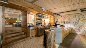 46平米自然宜家风格咖啡厅装修效果图赏析