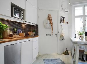 北欧风格小户型厨房设计装修效果图