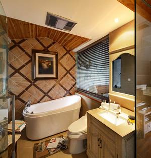 简约东南亚风格两室两厅一厨一卫装修效果图