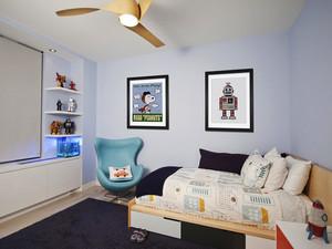 现代简约风格儿童房间装修效果图