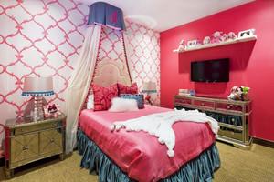 法式风格别墅室内儿童房装修效果图