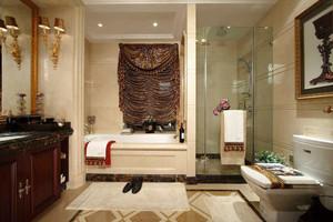 144平米古典欧式风格大户型室内装修效果图