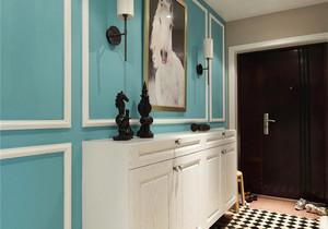 时尚混搭风格两室两厅一厨一卫装修效果图赏析