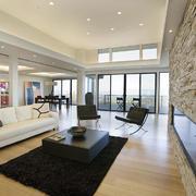 后现代风格大户型客厅装修效果图赏析