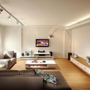 大户型宜家风格客厅电视柜装修效果图赏析