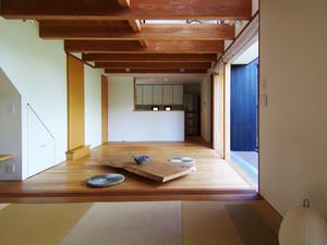 日式简约风格客厅榻榻米装修效果图