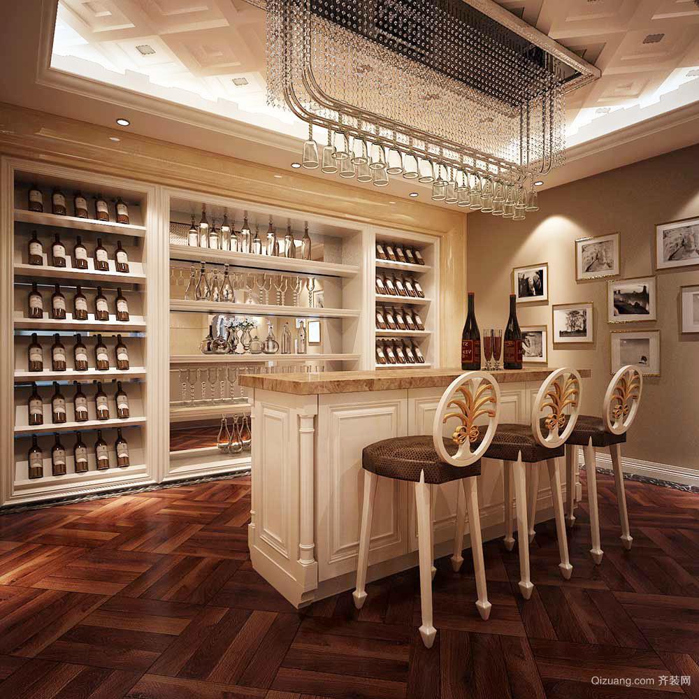 精致典雅歐式風格別墅室內裝修效果圖