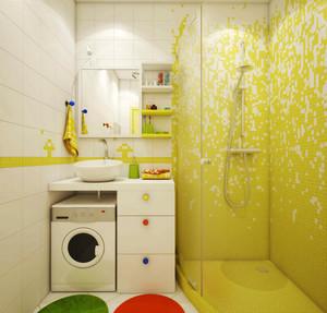 都市清新风格一居室小户型室内装修效果图