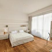 30平米北欧风格自然简约卧室装修效果图