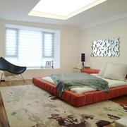 后现代简约风格卧室装修效果图赏析