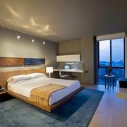 宜家风格简约自然舒适卧室装修效果图