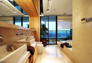 155平米现代风格复式楼室内装修效果图