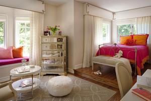 现代简约美式风格别墅卧室装修效果图鉴赏
