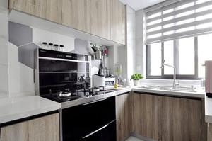 宜家简约风格两室两厅一厨一卫装修效果图