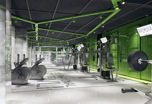 60平米后现代简约风格健身房装修效果图赏析