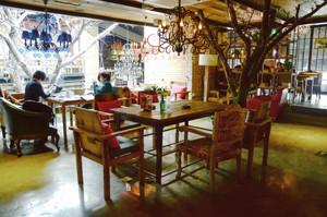 46平米宜家风格咖啡厅装修效果图案例