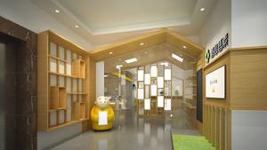 86平米现代简约风格中餐厅设计装修实景图案例