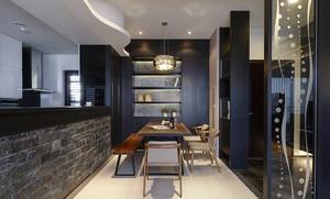 后现代风格大或户型室内餐厅设计装修效果图
