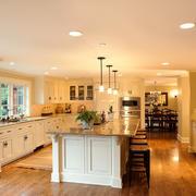 30平米美式风格别墅室内整体厨房装修效果图