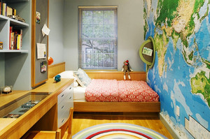 现代简约风格创意儿童房设计装修效果图