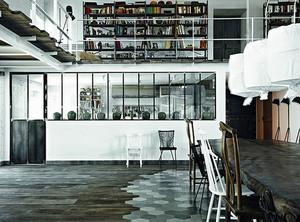 120平米现代工业风格跃层室内装修效果图