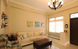 简欧风格小户型客厅飘窗设计效果图