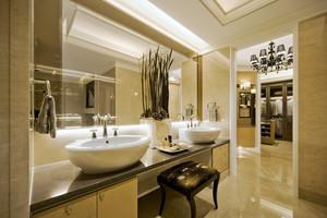 典雅精致欧式风格两层别墅室内装修效果图