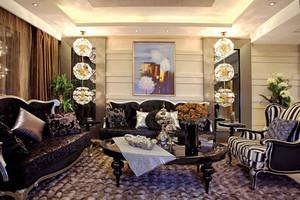 华丽精致古典欧式风格大户型室内装修效果图赏析