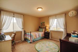 20平米美式风格儿童房装修效果图